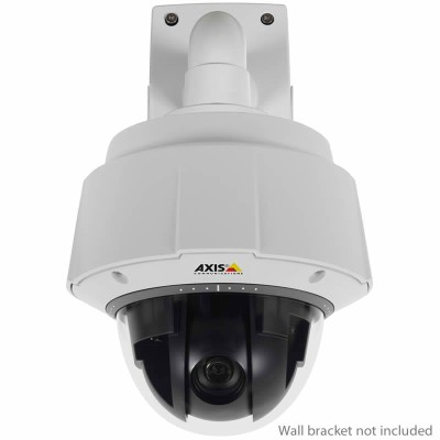 Axis Q6042-E outdoor vandal-resistant PTZ dome IP camera with extended D1 resolution, 360° panning and 36x optical zoom