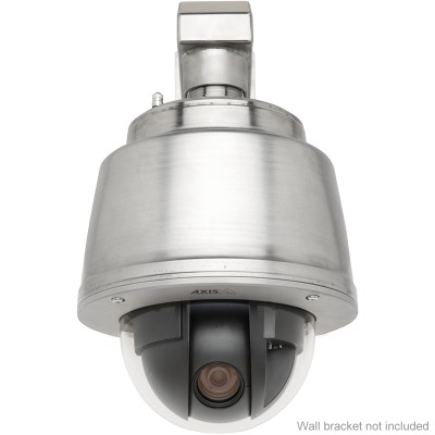 Axis Q6045-S pressurised stainless steel PTZ IP camera with HD 1080p, 360° panning, 20x zoom and highlight compensation