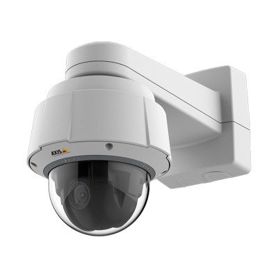 Axis Q6054-E Mk III outdoor PTZ dome IP camera with HD 720p resolution, 30x optical zoom, 360° panning and Lightfinder