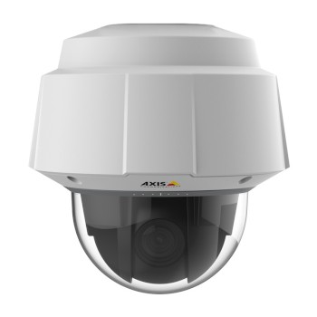 Axis Q6055-E outdoor PTZ dome IP camera with 1080p resolution, 32x optical zoom, 360° pan, Zipstream and High PoE