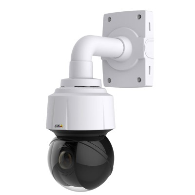 Axis Q6128-E outdoor PTZ dome IP camera with 4K UltraHD, 360° pan, 12x optical zoom with autofocus and Sharpdome technology
