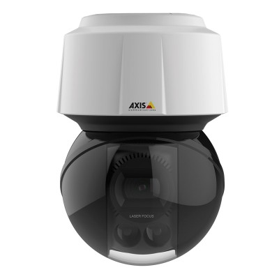 Axis Q6155-E outdoor PTZ IP camera, HD 1080p, 360° pan, laser focus, 30x optical zoom, Sharpdome and Lightfinder technology