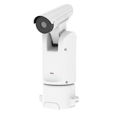 Axis Q8641-E PT outdoor thermal IP camera with 384x288 resolution thermal imaging, pan-tilt mount, EIS and Zipstream