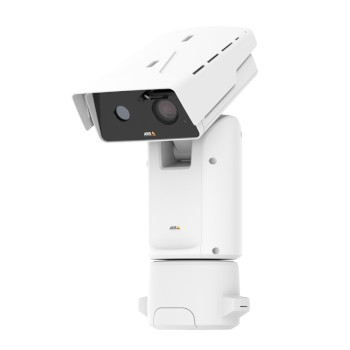 Axis Q8741-E outdoor bispectral PTZ with HD 1080p visual sensor and 384 x 288 thermal sensor, 30x optical zoom and 360° pan