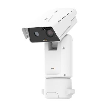 Axis Q8742-E outdoor bispectral PTZ, HD 1080p visual sensor, 640 x 480 (VGA) thermal sensor, 30x optical zoom and 360° pan