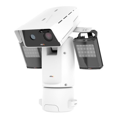 Axis Q8742-LE outdoor bispectral PTZ with HD 1080p, 640 x 480 thermal sensor, 30x optical zoom, 360° pan and up to 500m IR