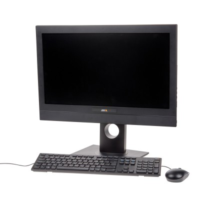 Axis Camera Station S9201 desktop terminal with 22-inch HD monitor for use with S1032 Mk II and S1048 Mk II recorders