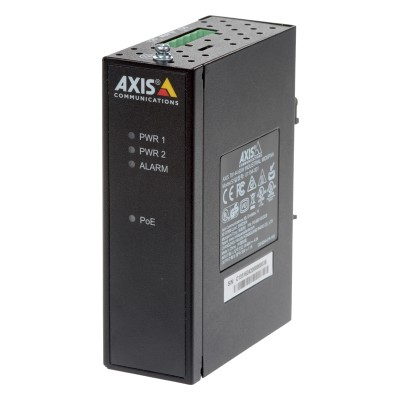 Axis T8144 industrial PoE+ midspan 60W 802.3at, 1-port