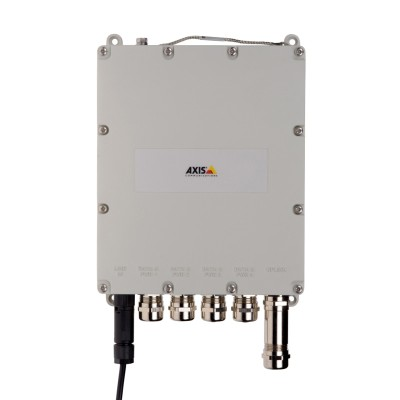 Axis T8504-E outdoor-ready managed PoE+ switch, 4 ports 10/100/1000TX