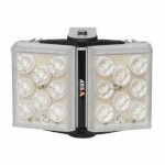Axis T90A37 vandal resistant, IP66-rated white light LED illuminator with adjustable angle, 42 m coverage