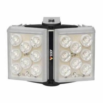 Axis T90A26 vandal resistant, IP66-rated white light LED illuminator with adjustable angle, 20 m coverage