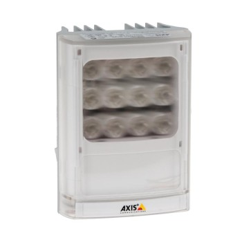 Axis T90B25 white LED illuminator, 10° - 80° and up to 90m distance