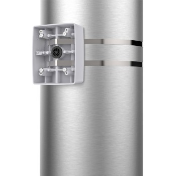Axis T91A57 pole mount for PTZ and multi-sensor IP cameras when used with the T91G61 wall mount