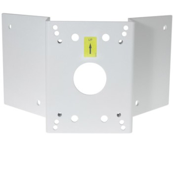 Axis T91A64 corner mount bracket for use with the T91B61 wall bracket