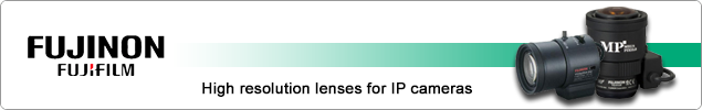 Fujinon IP camera lenses