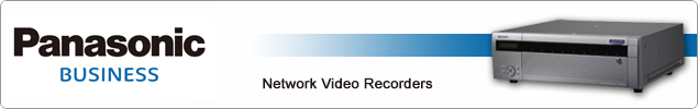 Panasonic Video Recorders (NVRs)