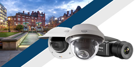 4K Ultra HD IP cameras