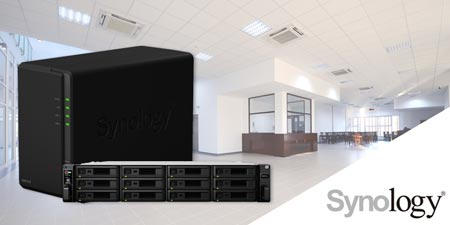 Synology network attached storage devices