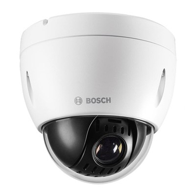 Bosch AUTODOME IP 4000 HD indoor PTZ with up to 1080p resolution, 12x optical zoom, MicroSD card storage and PoE+