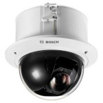 Bosch AUTODOME IP Starlight 5000i indoor in-ceiling PTZ dome with HD 1080p, 360° pan, 30x optical zoom and PoE+