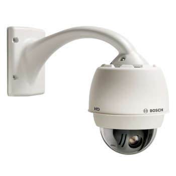Bosch AUTODOME IP Starlight 7000 HD outdoor PTZ with HD 1080p resolution, 30x optical zoom and Intelligent Video Analytics