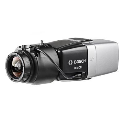 Bosch DINION IP Starlight 8000 MP indoor 5MP box IP camera with Intelligent Video Analytics, MicroSD card storage and PoE