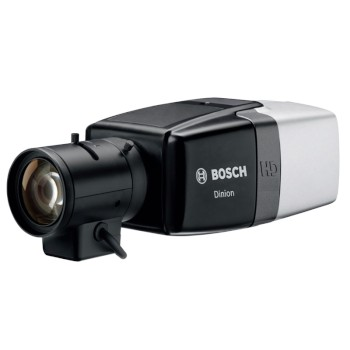 Bosch DINION IP Starlight 6000 HD indoor IP camera with up to HD 1080p resolution, Essential Video Analytics and PoE