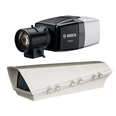 Bosch DINION IP Starlight 7000 HD outdoor PoE bundle with up to HD 1080p resolution and Intelligent Video Analytics