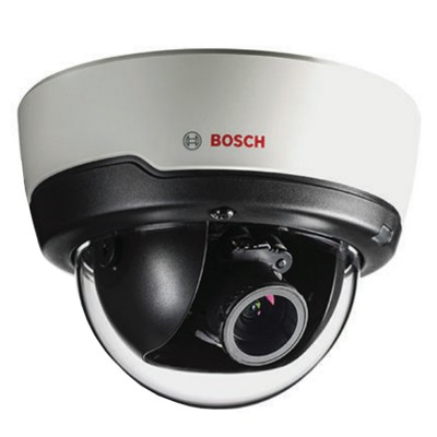 Bosch FLEXIDOME IP indoor 4000i with 1080p resolution, Essential Video Analytics, PoE and optional 30m IR night-vision