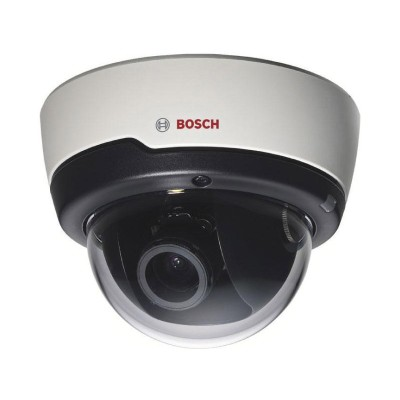 Bosch FLEXIDOME IP indoor 5000 with up to 5MP resolution, 15m IR night-vision and AVF models available