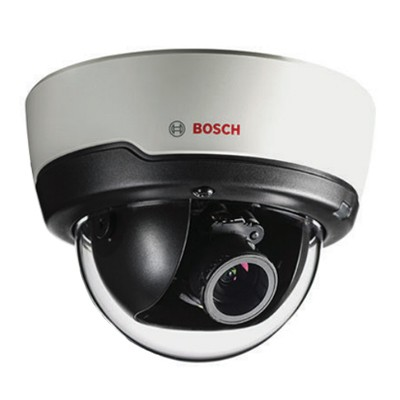 Bosch FLEXIDOME IP indoor 5000i with 5MP resolution, Essential Video Analytics, PoE and optional 30m IR night vision