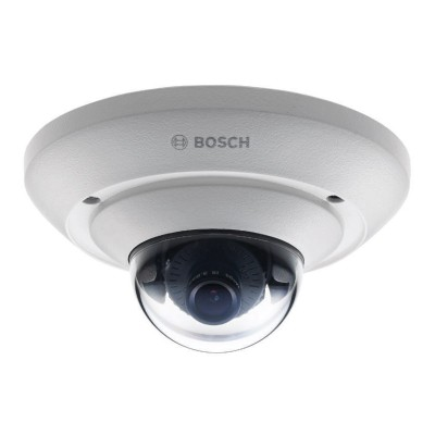 Bosch FLEXIDOME IP micro 2000 HD indoor mini dome IP camera with HD 720p resolution, audio support, edge storage and PoE