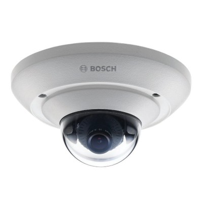 Bosch FLEXIDOME IP micro 5000 outdoor IP camera with up to 5MP resolution, wide viewing angles, edge storage and PoE