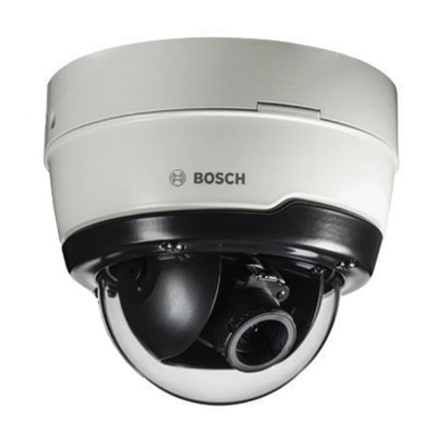 Bosch FLEXIDOME IP outdoor 5000i with 5MP resolution, vandal-resistant, Essential Video Analytics, PoE and optional 30m IR