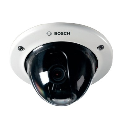 Bosch FLEXIDOME IP Starlight 6000 VR outdoor dome, up to HD 1080p  resolution, Essential Video Analytics and edge storage