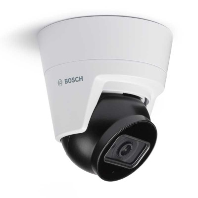 Bosch FLEXIDOME IP turret 3000i IR indoor IP camera with 15m IR, up to 5MP resolution, built-in microphone & PoE