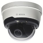 Bosch NDN-50051-A3 outdoor Flexidome IP camera, 5MP, true day/night capability, varifocal lens, PoE and edge storage