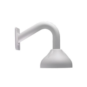 Bosch VDA-WMT-DOME outdoor-ready pendent wall mount for Bosch dome IP cameras