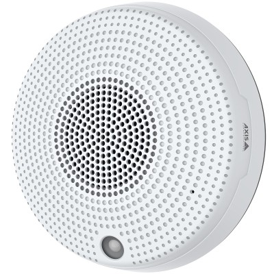 Axis C1410 network mini speaker with built-in amplifier, PIR, VoIP support and PoE