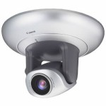 Canon VB-C300 Indoor PTZ IP camera with 2.4x optical zoom, true day/night, two-way audio and Power over Ethernet
