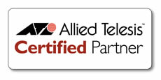 Allied Telesis Certified Partner logo