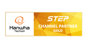 Wisenet - Hanwa Techwin Step Channel Partner Gold