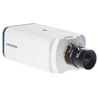 Grundig GCI-K1503B 2 megapixel indoor box IP camera with HD 1080p, true day/night, two-way audio and SD storage