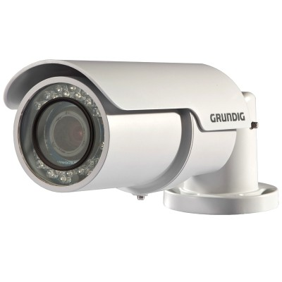 Grundig GCI-K1526T 2MP, HD 1080p outdoor bullet camera with true day night, 25m IR light, PoE and SD storage