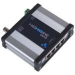 Veracity Highwire Quad VHW-HWQ Ethernet over co-axial video with 4-port switch with PoE output