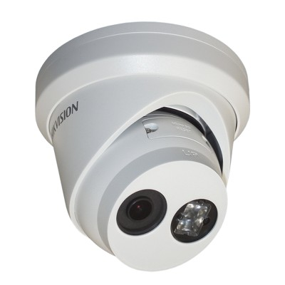 Hikvision DS-2CD2325FWD-I-2.8mm outdoor-ready turret IP camera with 2MP resolution, up to 30m IR, edge storage and PoE