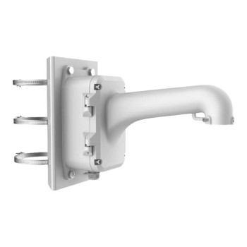 Hikvision DS-1604ZJ-BOX-POLE pole mount for Hikvision speed dome PTZ IP cameras with junction box