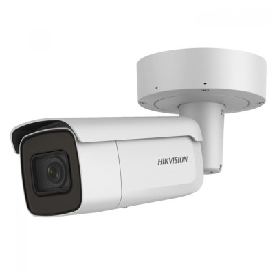 Hikvision DS-2CD2645FWD-IZS outdoor bullet IP camera with 4MP resolution, up to 50m IR, varifocal lens and PoE+