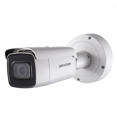 Hikvision DS-2CD2665G0-IZS outdoor bullet IP camera with 6MP resolution, up to 50m IR, varifocal lens, edge storage & PoE+