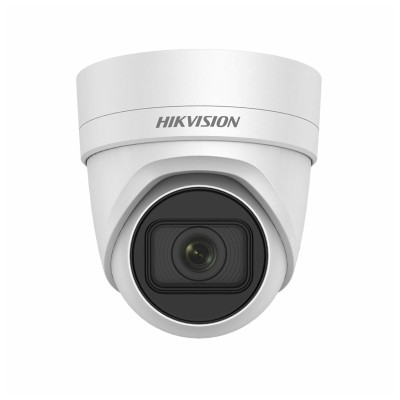 Hikvision DS-2CD2H25FWD-IZS outdoor vandal-resistant IP camera with 2MP resolution, varifocal lens, up to 30m IR and PoE